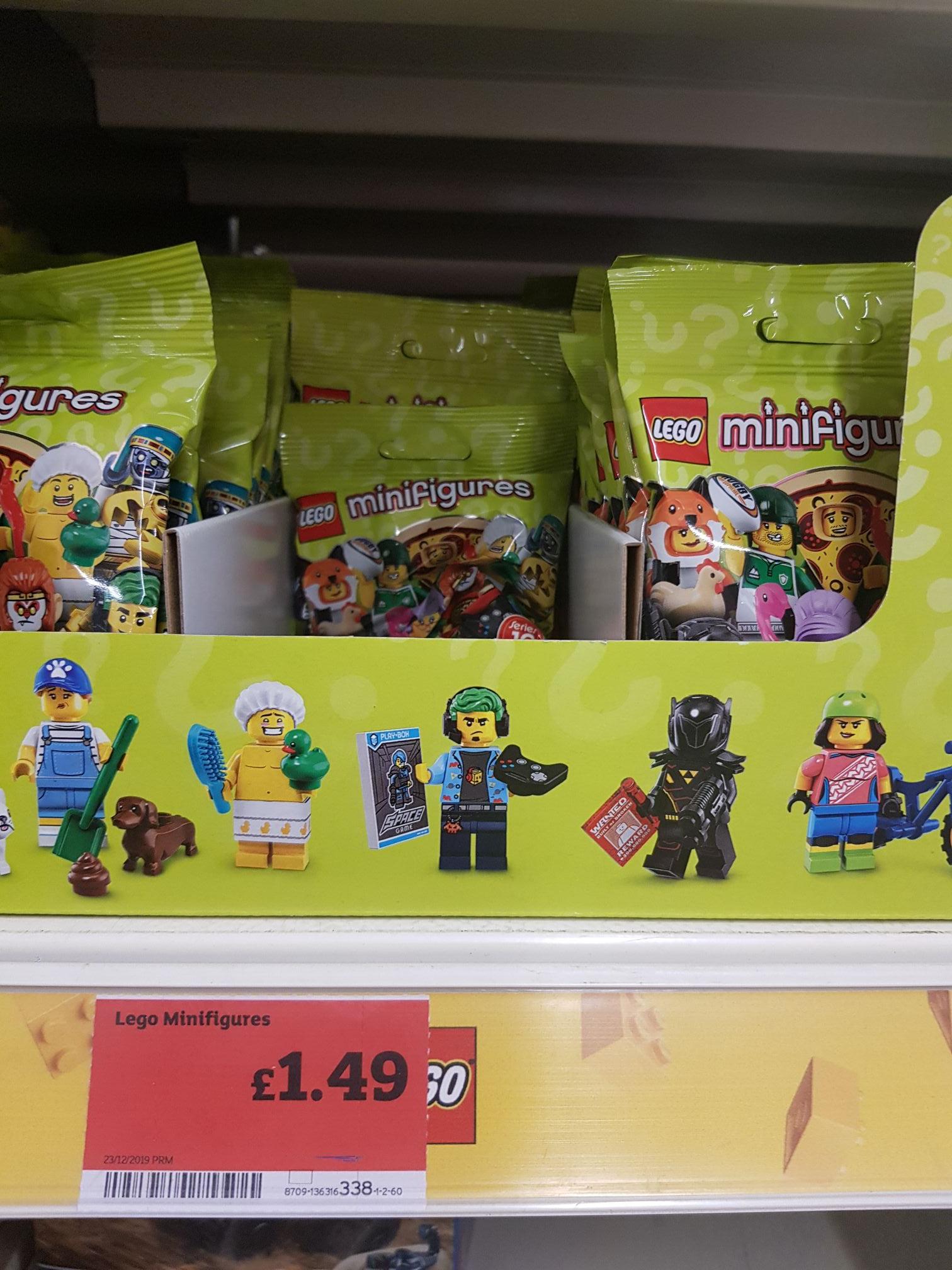 Lego Minifigures (series 19) £1.49 @ Sainsbury's