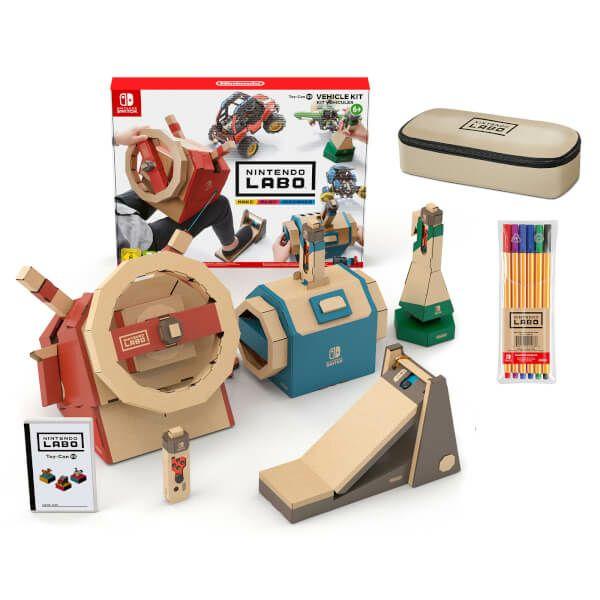 Nintendo LABO Vehicle Kit - Nintendo Switch £10.99 - Very.co.uk *Free Click & Collect*
