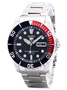 Seiko Automatic 23 Jewels 100m Divers Watch with Pepsi bezel £116 @ Creation Watches