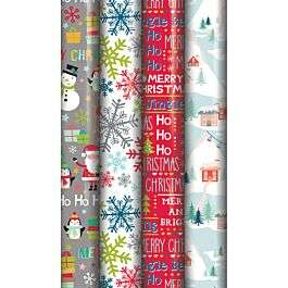 Christmas Gift 5M Wrap / Gift Tags/ Bows - 44p each @ Robert Dyas (Free Collection)