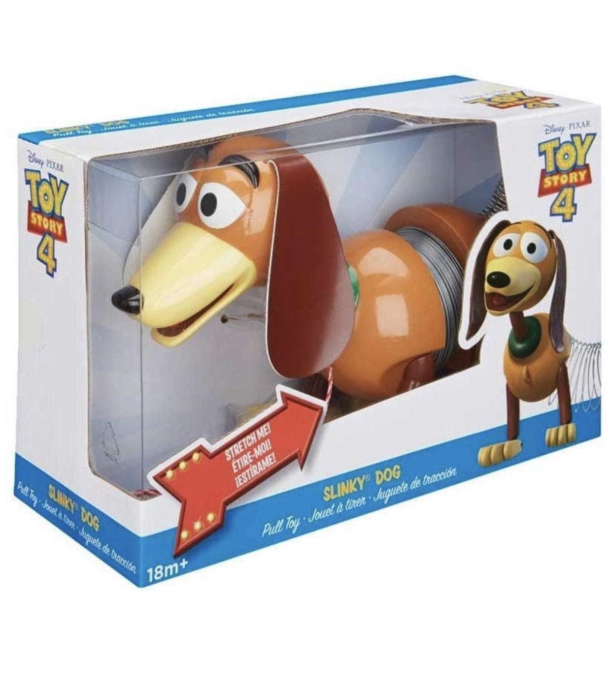 Disney Pixar Toy Story 4 Slinky Dog Figure £13.40 (+£4.49 Non Prime) @ Amazon