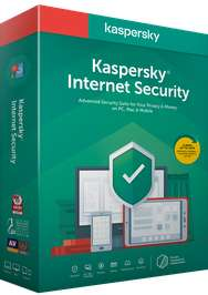 Kaspersky Internet Security 2019 Sale - E.G 1 Device 1 Year Internet Security £14