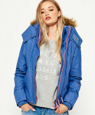 Superdry Hooded Faux Fur Sherpa SD-Windattacker Jacket - Size XS- S - £22.94 @ Superdry eBay