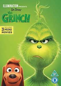 Grinch dvd £2 when you buy chart dvd in Sainsbury's instore