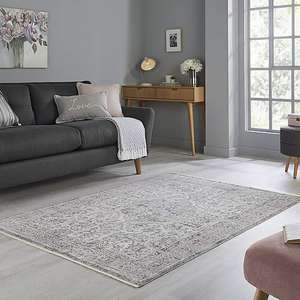 Layla Rug £17.50 @ Dunelm - Click & Collect. 133x190cm