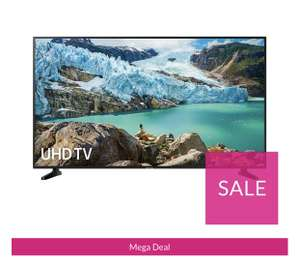 Samsung UE55RU7020KXXU 55 inch HDR Smart 4K TV with Apple TV app £397 VERY