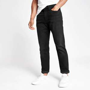 Levi's black hi-ball roll jeans £35 River Island + £1 collect / £3.99 delivery