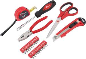 Draper Redline 80896 Tool Kit (25-Piece) for £5.68 at Amazon