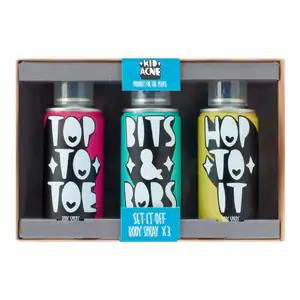 Kid Acne Set It Off Body Spray Trio Gift Set £2.50 was £8 @ Superdrug