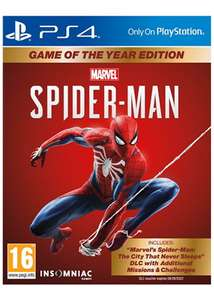 Marvel's Spider-Man: Game of the Year Edition £21.85 / Standard £15.85 Delivered @ Base