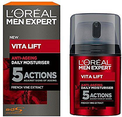 L'Oréal Men L'Oréal Men Expert Vitalift moisturiser 50ml - £6.50 (Prime) / £10.99 (non Prime) at Amazon