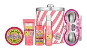 Soap & Glory Sugar Crush or Original Pink Collection Tin £5 + £1.50 order and collect @ Boots