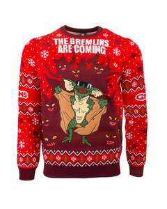 Gremlins are coming to town Xmas jumper £12.99 - free click & collect @ Game