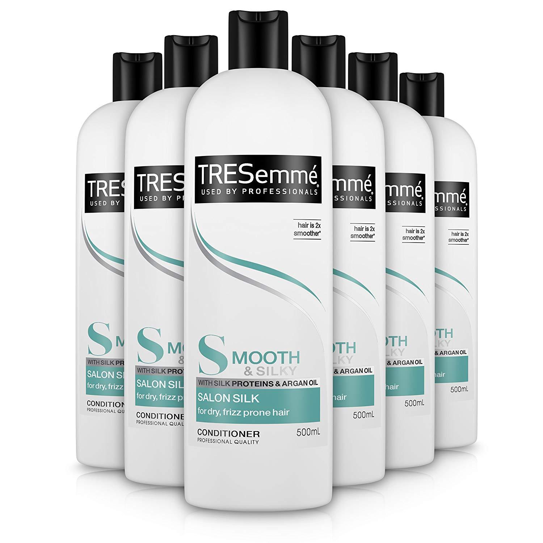 TRESemmé Smooth Salon Silk Conditioner 500 ml - Pack of 6 £9.90 Prime / +£4.49 / £8.41 s&s non Prime @Amazon