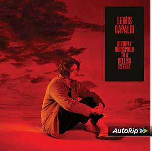 Lewis Capaldi - Divinely Uninspired To A Hellish Extent [CD] £4.99 (Prime) / £7.98 (non Prime) at Amazon