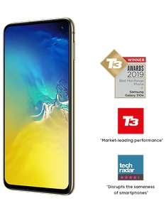 Samsung Galaxy S10e Smartphone £449.99 (£349.99 With Samsung Cashback) All Colours Available @ Carphone Warehouse