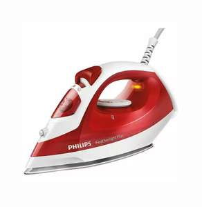 Philips Comfort GC1424/40 Steam Iron 1400W - Red for £14.99 at Ebay /cheapestelectrical