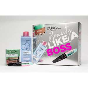 L'Oreal Beauty Like a Boss Gift Set £6.99 in store or £3 delivery.