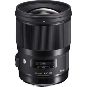 Sigma 28 mm/F 1.4 DG HSM Lens £860.24 @ amazon.co.uk