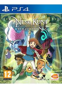 Ni No Kuni: Wrath of the White Witch Remastered (PS4) £24.85 Delivered @ Base