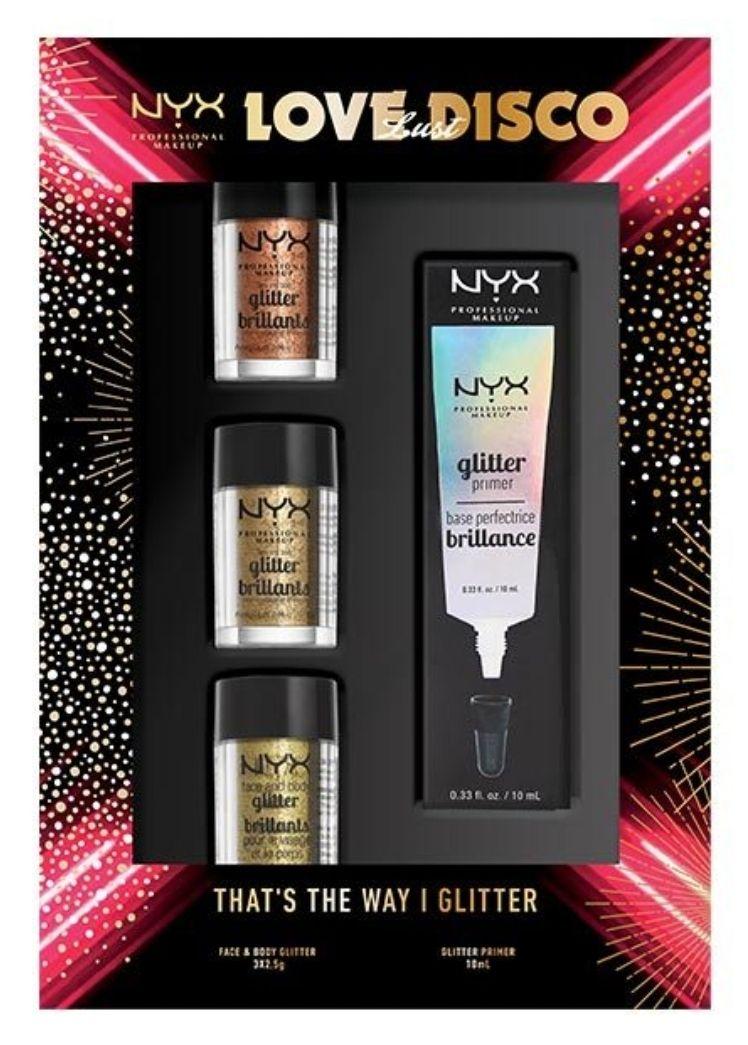 NYX Professional Makeup Love Lust Disco Glitter Set £4.99 @ Superdrug CC