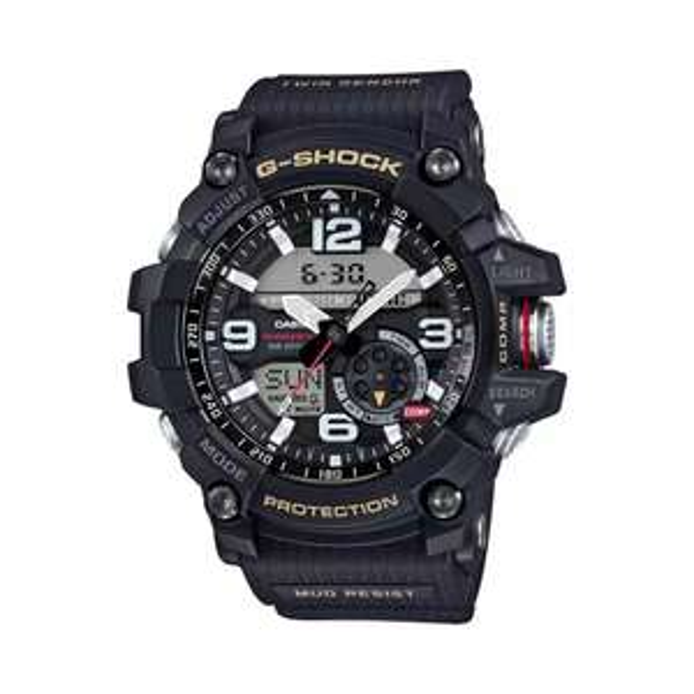G-shock-Men's black 'G-Shock Mudmaster' watch gg-1000-1aer £135 Debenhams