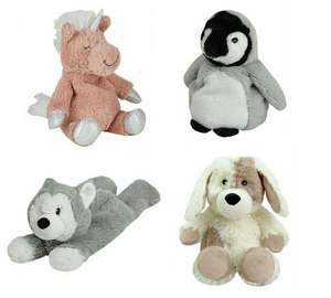 Warmies Mini Heatables £4.20 @ Dunelm - (Free Click and Collect) Choice of Unicorn, Penguin, Husky or dog