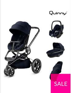 Quinny Moodd Pushchair 4-in-1 Package - £599.99 / £479.20 with New Customer Discount at VERY