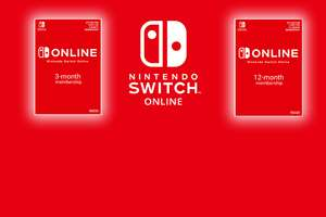 5% OFF All Nintendo Digital With Code - NSO 3 months for £3.66 / 12mths for £14.10/ Family 12 months £23.61 - Download Code @ Shopto