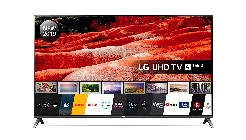 LG Electronics 50UM7500PLA 50-Inch UHD 4K HDR Smart LED TV - £379 @ Amazon