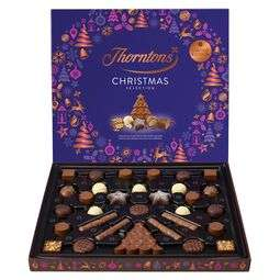 up to 50% off Xmas chocolate online only @ Thorntons