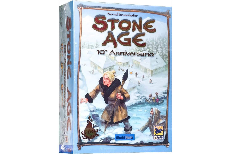 Stone Age 10th Anniversary Table Game - Italian Version £26.54 Amazon