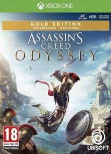 [Xbox One] Assassin's Creed Odyssey Gold Edition Inc Season Pass, A/C III Remastered, A/C Liberation Remastered - £24.43 @ Instant Gaming