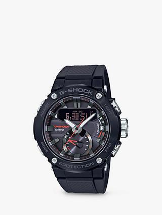Casio Solar G-Shock Carbon Core Resin Strap Watch, Black half Price @ John Lewis & Partners