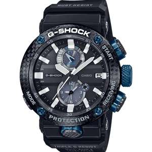 Mens Casio G-Shock Gravitymaster Bluetooth Watch GWR-B1000-1A1ER £375 at John Lewis and Partners