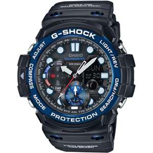 Casio G-Shock Gulfmaster Tide Graph Moon Phase Compass Resin Strap Watch £130 at John Lewis and Partners