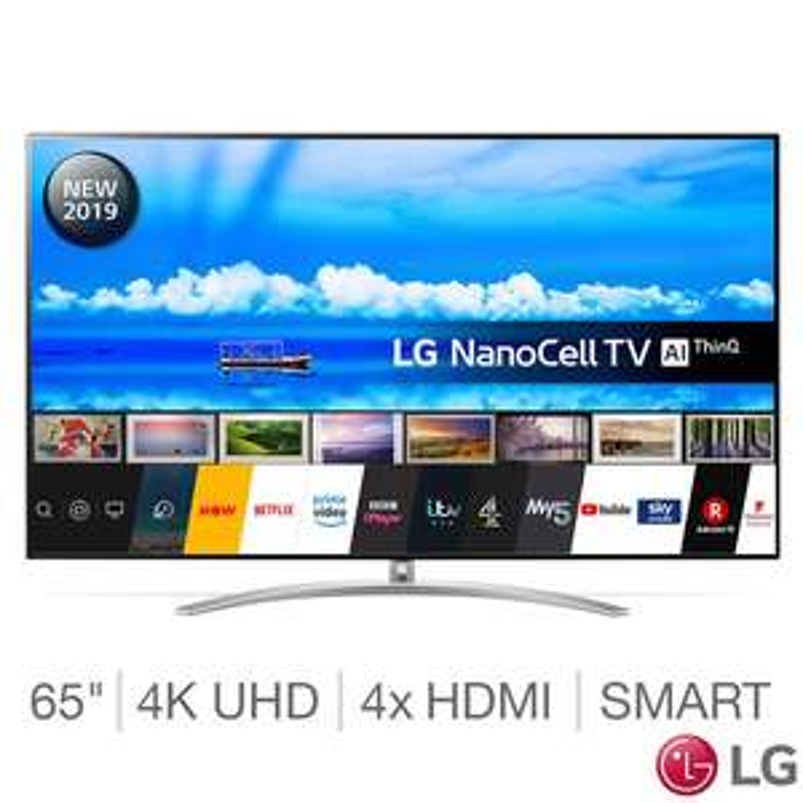 LG 65SM9800PLA 65 Inch NanoCell 4K Ultra HD Smart TV £1499.99 @ Costco