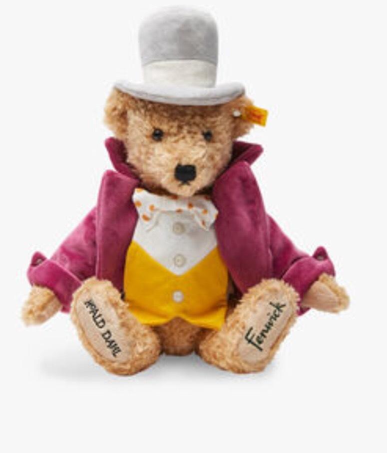 Willy Wonka Fenwick Steiff Teddy Bear £20 instore @ Bentalls Kingston
