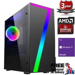 AMD 3200G Quad Core 8GB 480GB SSD Windows 10 Gaming PC £314.95 @ ebay / ochw