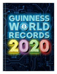 Guinness Book Of World Records 2020 - £5 instore @ Tesco