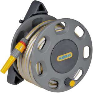Hozelock 30m Wall Mounted Reel with 15m Hose - £20.00 @ Homebase (Click Collect Only)