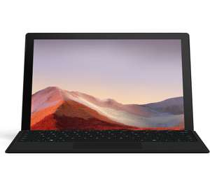 "MICROSOFT 12.3"" Intel® Core™ i5 Surface Pro 7 with Black Type Cover - 256 GB £779 @ Currys"