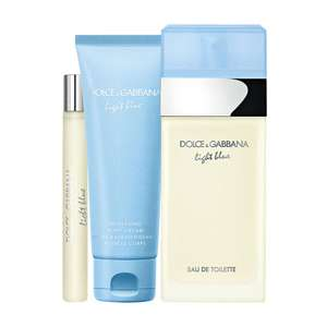 Dolce and Gabbana Light Blue Gift Set 100ml at Fragrance Direct for £59.95