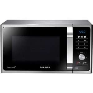 Samsung MS23F301TAS 23 Litre 800 Watt Freestanding Microwave Oven - Silver at Appliances Direct for £