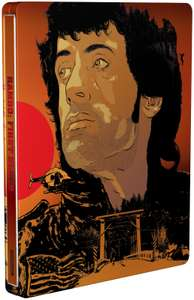 Rambo: First Blood - Zavvi Exclusive (Blu-Ray & 4K Ultra HD) - Steelbook for £13.98 delivered (with code) at Zavvi