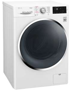 LG Steam F4J6VY2W Washing Machine in White, 9kg 1400rpm, 5 year warranty £368.95 delivered @ Sonic Direct