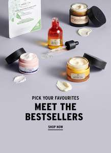 20% off @ The Body Shop online and instore