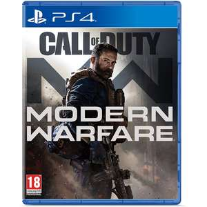 Call of Duty: Modern Warfare (PS4 + XBOX One, 2019) @ 365games.co.uk £34.99