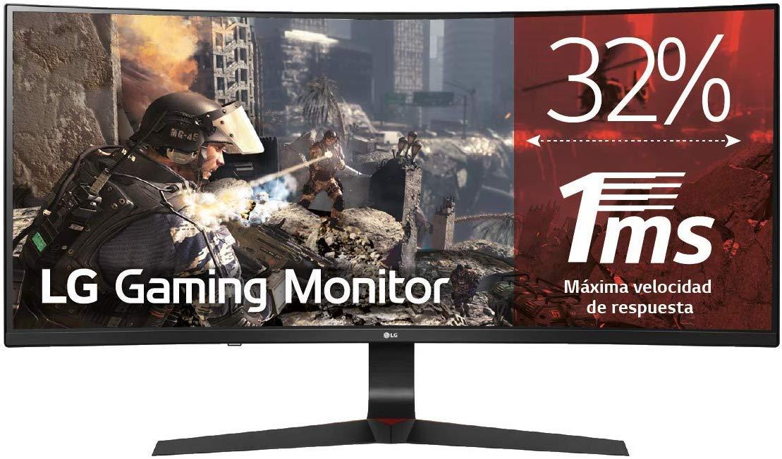 LG 34GL750-B UltragearTM Curved 21:9 UltraWideTM Full HD IPS Gaming Monitor (144Hz, 1ms, HDR10, FreeSync/G-Sync) - £297.94 @ Amazon Germany