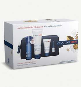 Clarins Men Hydrate Collection gift set £26.50 Selfridges